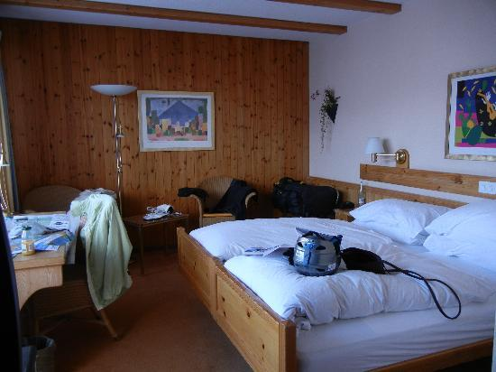 Sunstar Alpine Hotel Grindelwald: Our double room