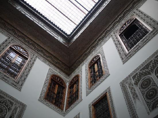 Riad au Vingt Jasmins: high ceiling