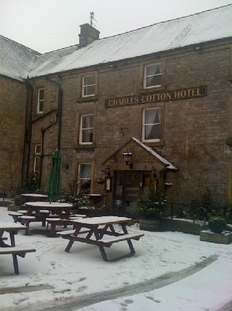 Charles Cotton Hotel: the front of the hotel