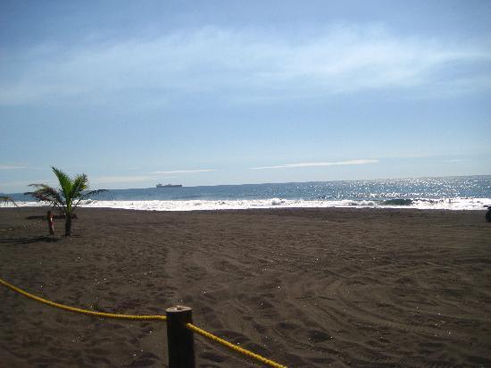 Hotel Soleil Pacifico: the beach