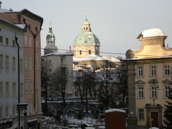 Gasthaus Hinterbrühl: Blick aus dem Fenster 2