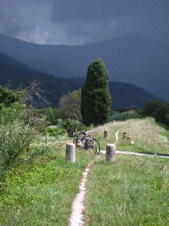 San Giuliano Terme, Italy: in bici