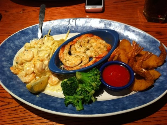 Red Lobster: my meal