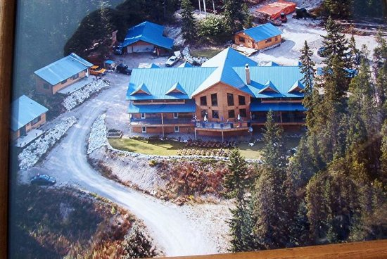 Glenogle Mountain Lodge & Spa: Glenogle from air