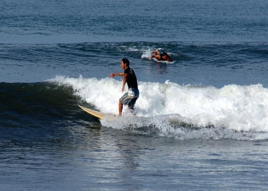 Villa Elanora : Playa ideal para el surf o pasear