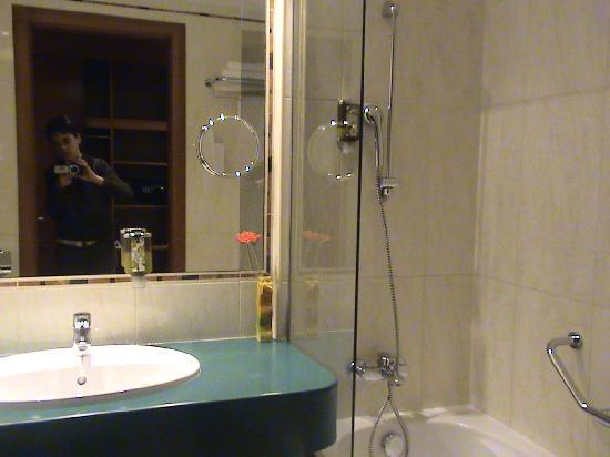 Lion's Garden Hotel: The bathroom