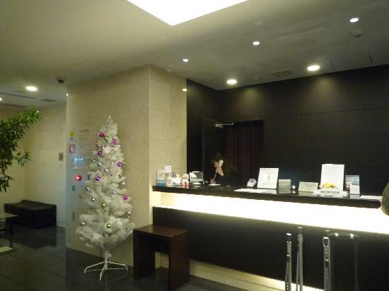Sanco Inn Nagoya Fushimi : フロントの様子です
