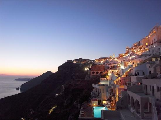 Scirocco Apartments: バルコニーからの眺め