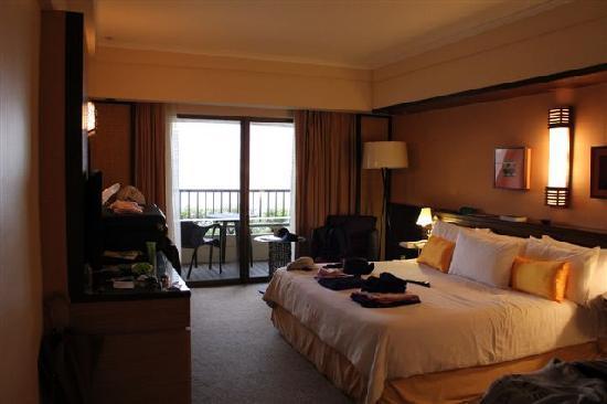 PARKROYAL Penang Resort, Malaysia: deluxe seafacing room