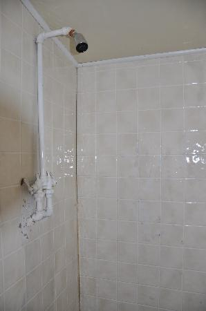 Sears Motel and Campground : Scary shower.