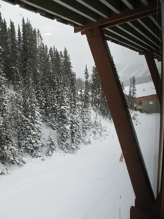 "Sunshine Mountain Lodge: View from a"" Waterfall View"" room"