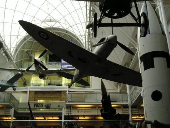 Museo Imperial de la Guerra: スピットファイヤ