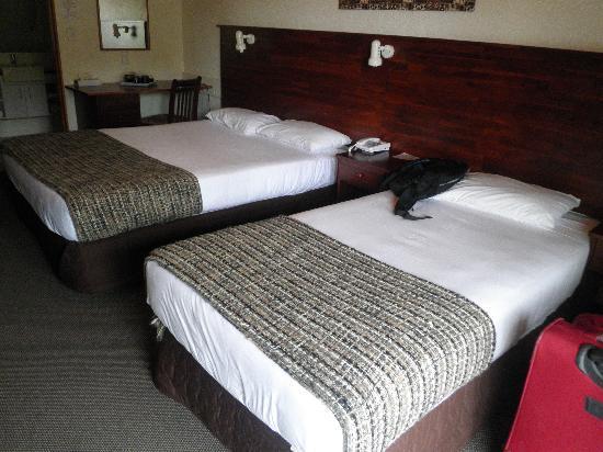 Tanoa Paihia Hotel: beds
