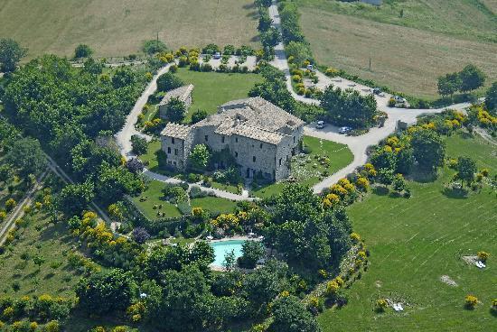 Castello di Petrata: Veduta dall'alto