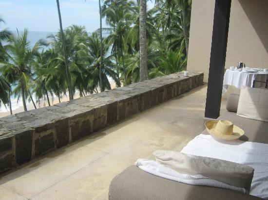Amanwella: View from the private terrace