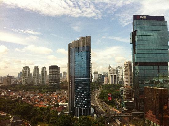 Mandarin Oriental, Jakarta: View from my room in the morning