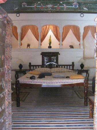 "Hotel Mandawa Haveli: Our ""grand room"""