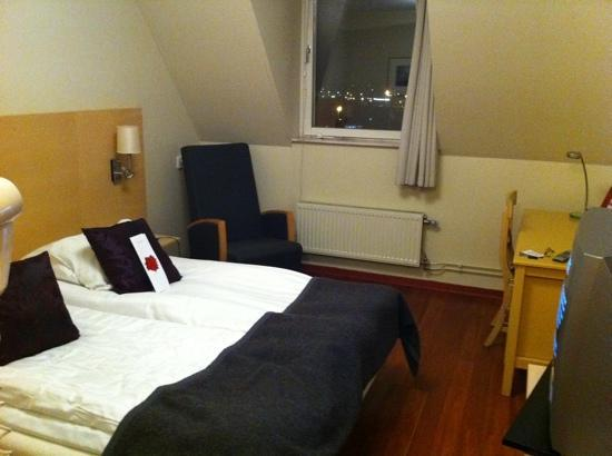 Scandic Hotel Star Lund: Small but clean room