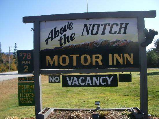 Above The Notch Motor Inn: The Lowest Rates in Bretton Woods