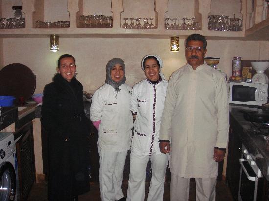 Riad Aya: le personnel très efficace du raid
