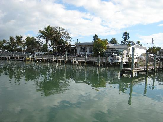 Goodland, FL: Little Bar as seen from the water