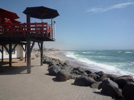Swakopmund, Namíbia: The seashore of the town
