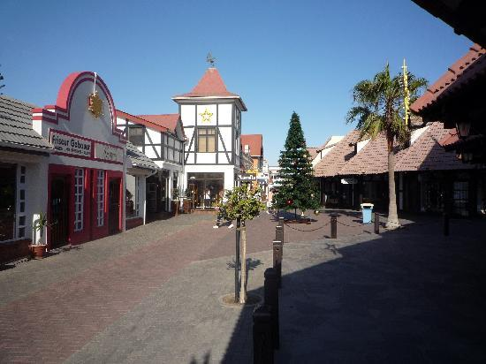 Swakopmund, Namibia: The shopping area