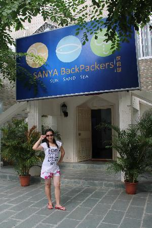 Me at Sanya Backpackers