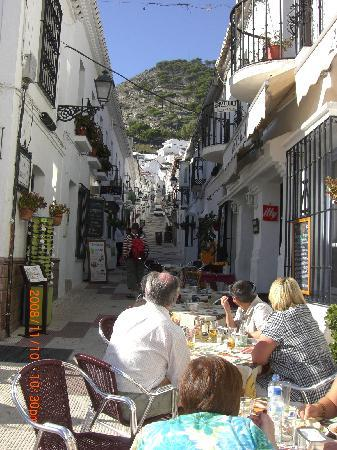 Mijas, İspanya: コマーシャルに登場の小道