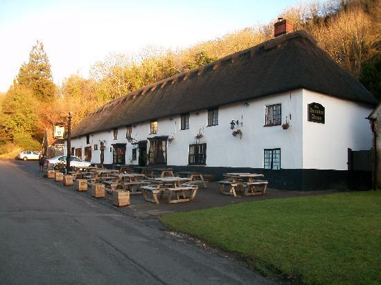 ‪‪Milton Abbas‬, UK: Hambro Arms on Anniversary Day‬