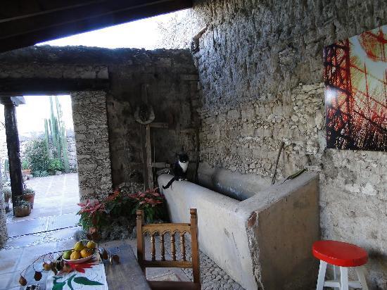 Mineral de Pozos, Mexico: patio