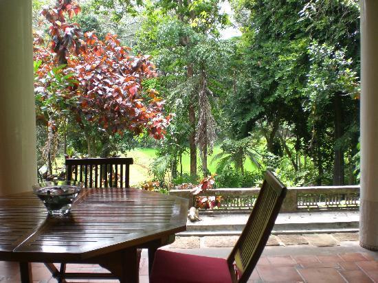 Apa Villa Illuketia: View from the terrace