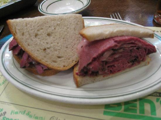 Ben's kosher delicatessen restaurant & caterers, nueva york ...