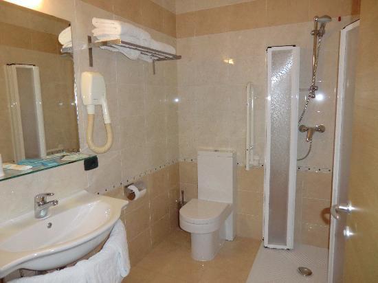 Hotel Oasi Wellness & Spa : bagno camera standard