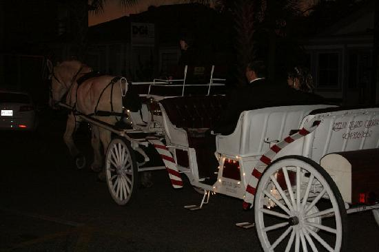 Amelia Island Carriage, was my transportation from the Florida House Inn