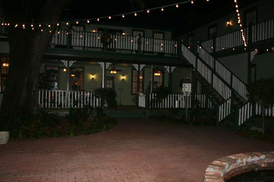 Florida House Inn: Florida House Courtyard, this is where our wedding took place