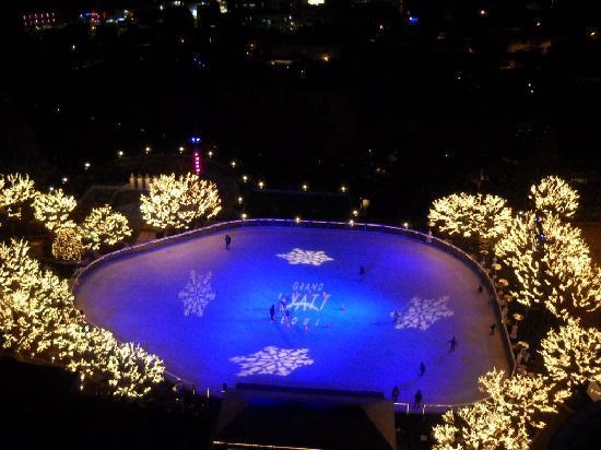 โรงแรมแกรนด์ ไฮแอท: Hyatt's skating rink