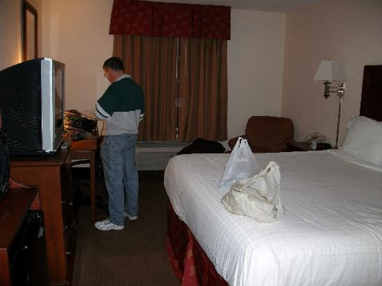 Super 8 Bowling Green North: Our room (with king bed) at Super 8