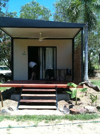 Northern Territory, Avustralya: One of the new cabins that we stayed in.