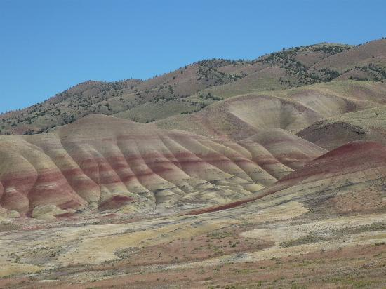 Vista of Painted Hills, near Mitchell