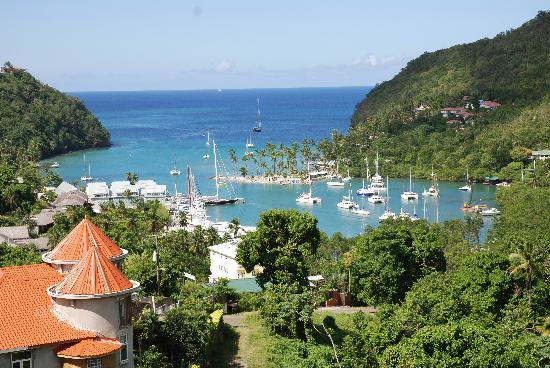Bay Gardens Beach Resort: Marigot Bay
