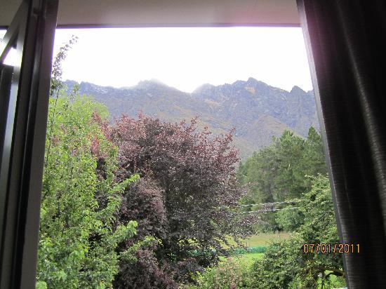 Remarkables Mountain Lodge: view from our room