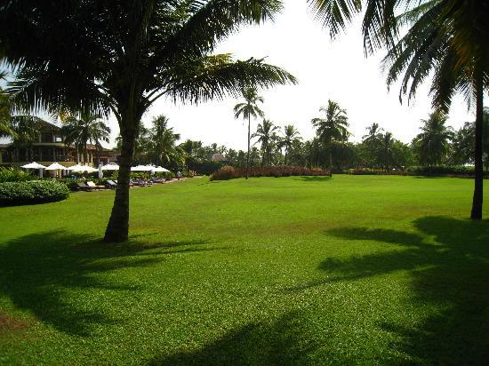 Park Hyatt Goa Resort and Spa : The grounds of the Park Hyatt Goa