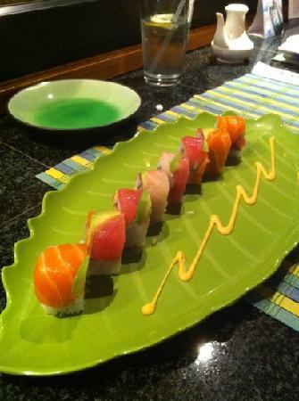 Sushi Shoya: Rainbow Roll