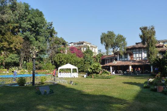 Shangri-La Hotel Kathmandu: Garten des Shangri-La