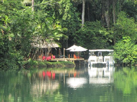 Belcampo Lodge: by the river