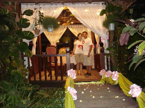 Apsara Angkor Resort & Conference: Romantic dinner