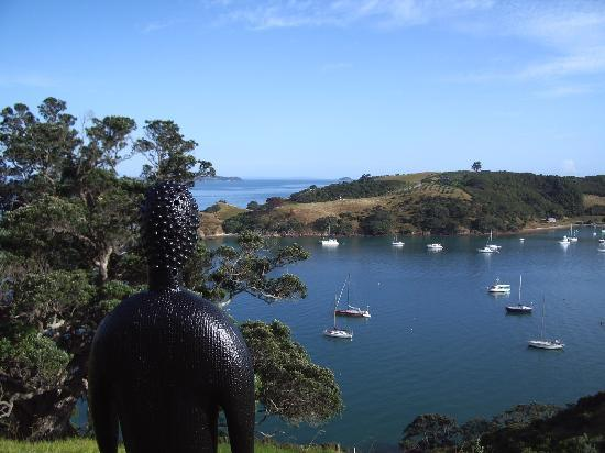 Waiheke-øya, New Zealand: A view from headlands walk, Matiatia, Waiheke Island