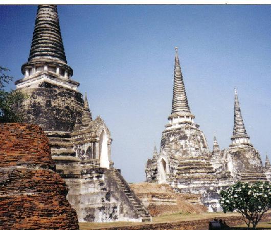 Ayutthaya Thailand former capital of Siam