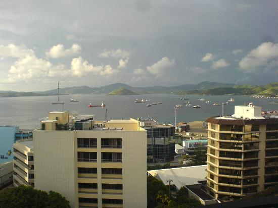 Crowne Plaza Port Moresby: View from Crowne Plaza